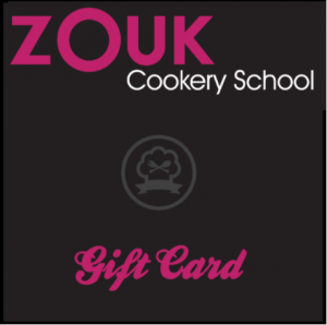 cookery school gift card