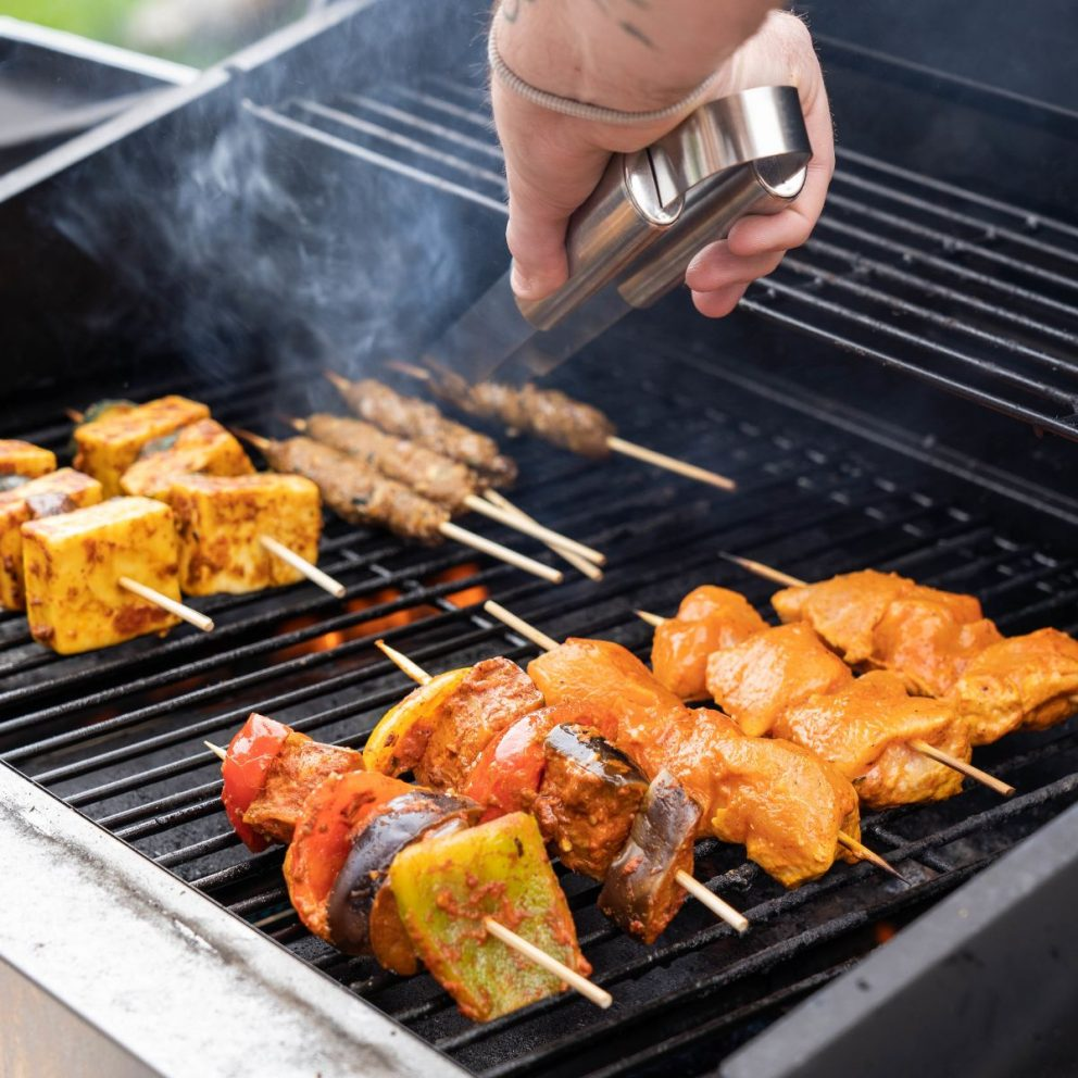 Zouk BBQ packs include a range of special marinades and recipes