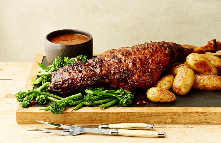 Leg of lamb makes a great Father's Day Centrepiece