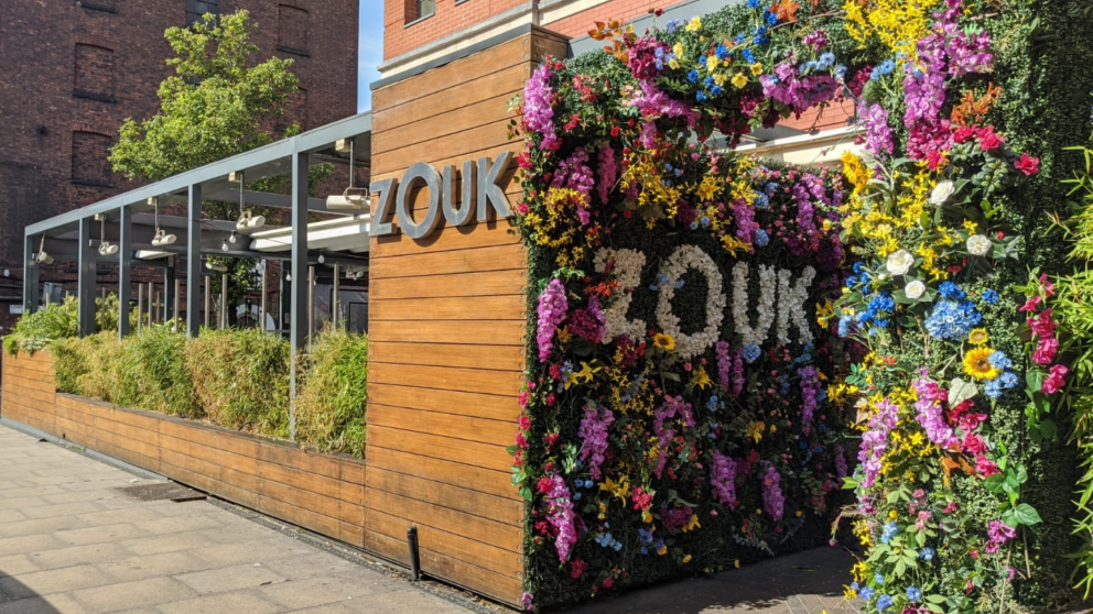 Student Offers at Zouk Manchester 2020