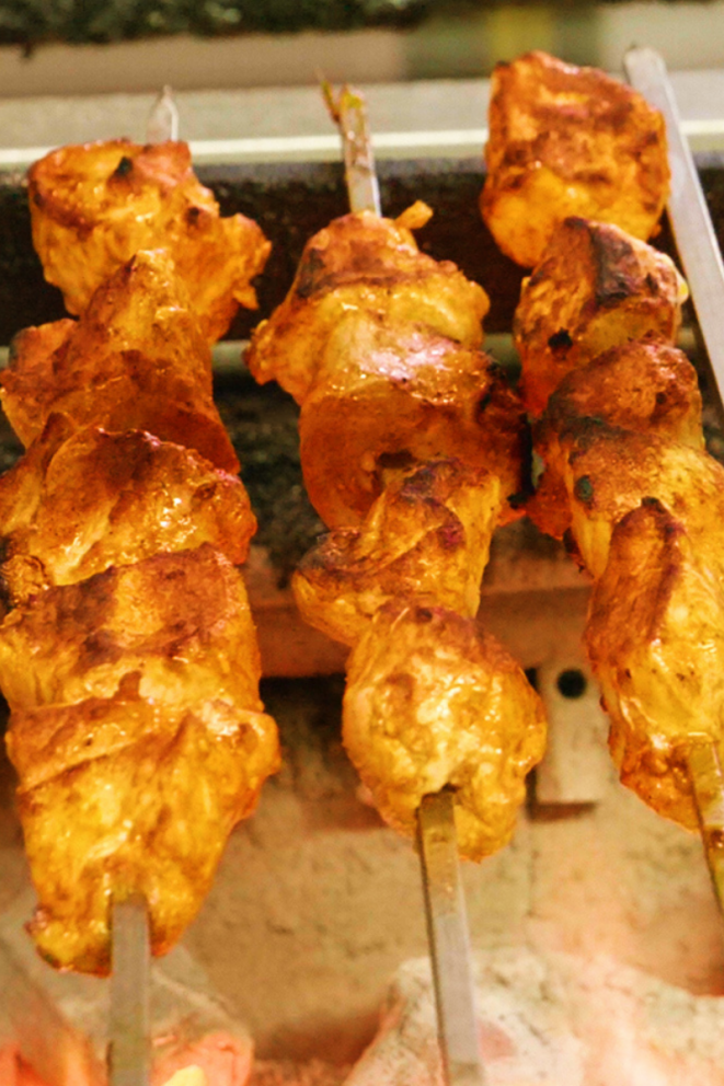 Chicken Tikka is on the halal menu