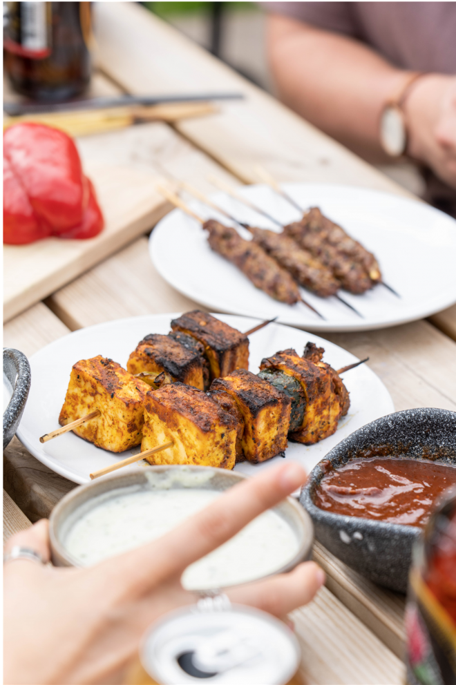 Zouk Live BBQ non meat options