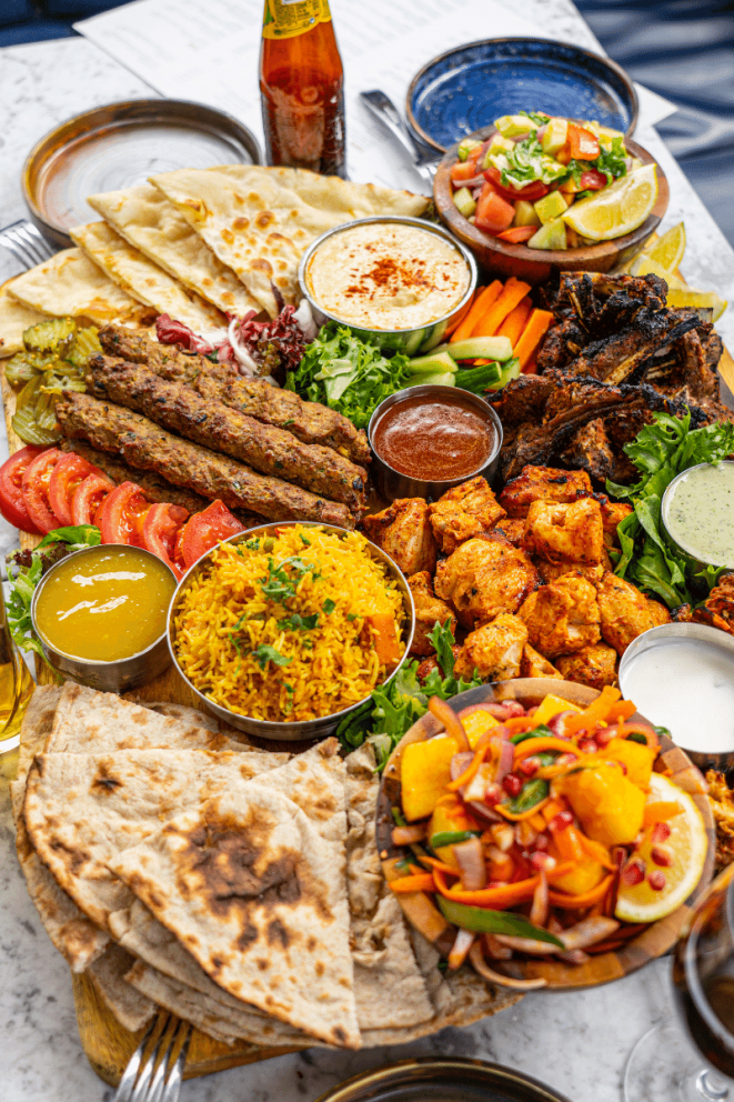 Zouk Grilled Platters for sharing