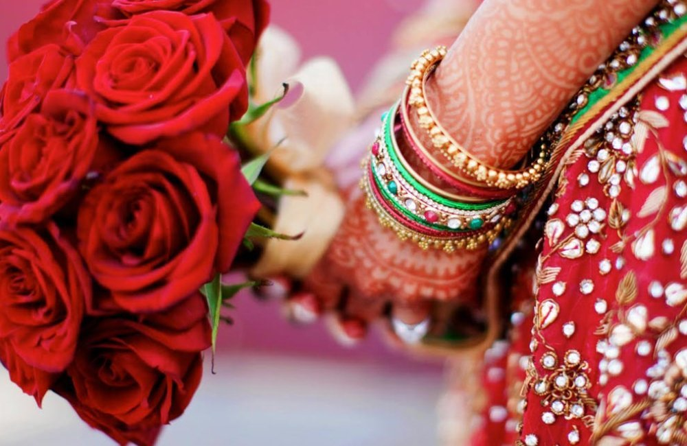 Asian wedding flowers Manchester & Yorkshire